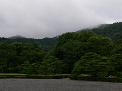 山と水蒸気