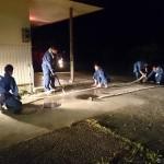 消防操法練習会最終日