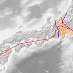 中央構造線と神社