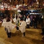坂宇場花祭り夜半過ぎ
