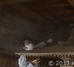 神社の大掃除お手伝