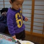 息子4歳の誕生日