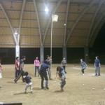 村民運動会の練習