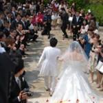 後輩の結婚式@名古屋