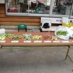 山菜天ぷらイベント