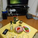 誕生日の晩餐