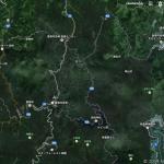 Googleマップに雲が