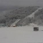 茶臼山高原は白銀の世界