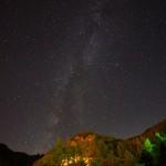 茶臼山で星空イベント