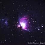 初めての直焦点撮影M42