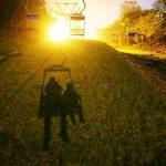 芝桜の丘ライトアップ村民向けリフト無料公開