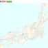 地図上に非デフォルメ鉄道路線図