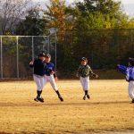 シーズンラスト少年野球試合と中設楽花祭り