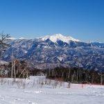 長男スキー特訓inチャオ御岳
