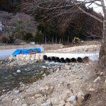 河川工事の現場、問題解決手法研修