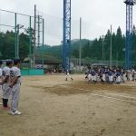 少年野球夏期北設楽郡大会in豊根村