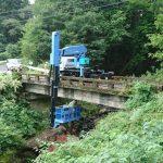 橋の測量設計調査第3弾