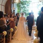 大学時代の星を愛する友人が横浜で結婚式