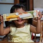 娘さん3歳の誕生日を迎えました