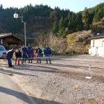 消防団による秋の防災啓発活動