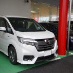 新車納車(HONDAステップワゴンスパーダHV)