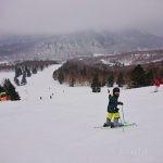 志賀高原スキー1日目(一の瀬ダイヤモンド→神の山→焼額山→奥志賀)往復