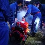 消防団平成最後の月例ポンプ点検