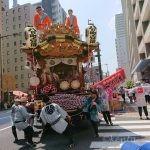 東京へ1日目~高速バスで長男と。八王子まつり