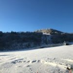 茶臼山高原は雪乞い効果てきめん。職場は暖房と電話がストップ