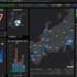 新型コロナウイルス感染者発生状況(都道府県別)が地図で